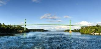 Tysiąc wysp mostów Zdjęcia Stock