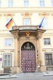 tysk ambassad Royaltyfri Fotografi