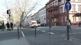 Tysk ambulans arkivfilmer