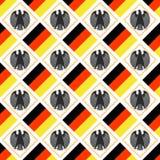 Tysk bakgrund Royaltyfri Bild