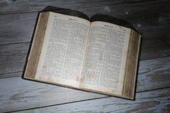 Tysk bibel Arkivfoto