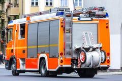 Tysk brandlastbil Royaltyfri Foto