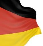 tysk för flagga 3d Arkivbilder
