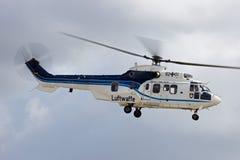 Tysk flygvapenhelikopter Royaltyfria Bilder