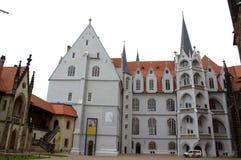 Tysk gammal slott Arkivbild