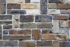 tysk gammal stenvägg Arkivfoto