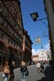 tysk gammal town Royaltyfri Fotografi