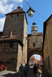 tysk gammal town Royaltyfria Bilder