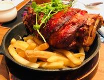 Tysk grisköttknoge royaltyfri bild