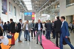 Tysk handelshow Royaltyfria Bilder