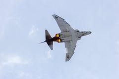 Tysk jaktflygplan för fantom F-4 Arkivfoto