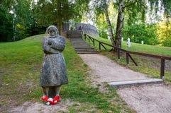 Tysk krigkyrkogård arkivfoto