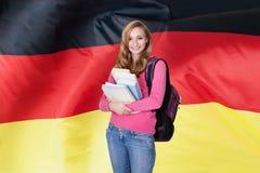 Tysk kvinnlig student Royaltyfri Foto