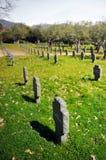 Tysk kyrkogård i Yuste, Caceres, Spanien Arkivbilder