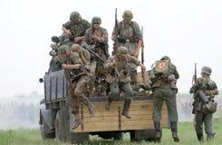 tysk likformig ww2 för ammo Royaltyfri Fotografi
