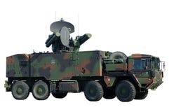 tysk militär lastbil Royaltyfri Bild
