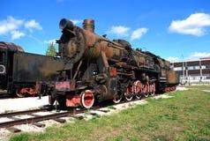 Tysk motor av serien TE-4844 Tekniskt museum K G Sakharova Togliatti Royaltyfria Bilder