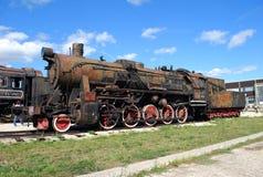 Tysk motor av serien TE-4844 Tekniskt museum K G Sakharova Togliatti Royaltyfri Fotografi