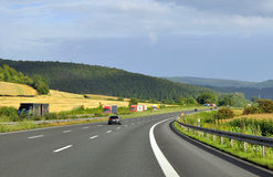 Tysk motorway Royaltyfri Bild