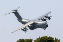 Tysk nivå för transport för flygvapenLuftwaffe flygbuss A400M militär arkivfoton