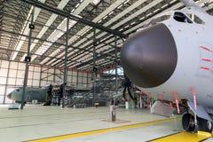 Tysk nivå för transport för flygvapenLuftwaffe flygbuss A400M militär arkivbilder