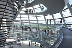 tysk parlament Royaltyfri Fotografi