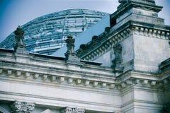 tysk parlament Arkivbild