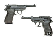Tysk pistolmodell 1938 Royaltyfria Foton