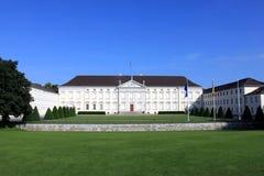 Tysk presidents- slott i Berlin, Schloss Klocka Fotografering för Bildbyråer