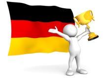 tysk seger Fotografering för Bildbyråer