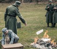 tysk soldat Fotografering för Bildbyråer