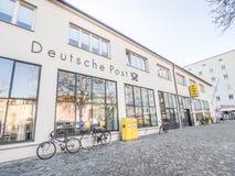 Tysk stolpe - kontor Royaltyfria Bilder