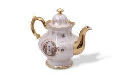 tysk teapot Fotografering för Bildbyråer