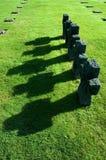 tysk tombstone Royaltyfria Bilder
