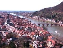 Tysk town Royaltyfri Fotografi