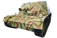 Tysk tung isolerad anfallvapenSturmpanzer 43 Brummbär grisslybjörn Arkivfoto
