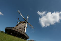 tysk windmill Royaltyfri Foto