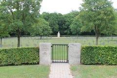 Tysk WW1 militär kyrkogård, St Mihiel, Frankrike Arkivbilder