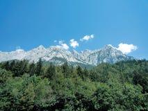 tyska alps Fotografering för Bildbyråer