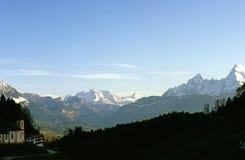 tyska alps Arkivbild