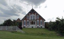 tyska hus Royaltyfria Foton