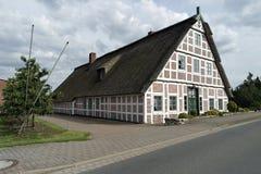 tyska hus Fotografering för Bildbyråer