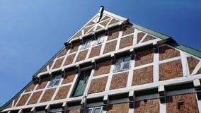 tyska hus Arkivbild