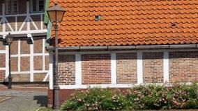 tyska hus Arkivfoton