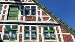 tyska hus Arkivbilder