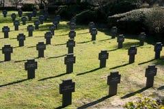 Tyska Kyrkogård Cuacos de Yuste, Caceres, Extremadura, Spanien arkivbild