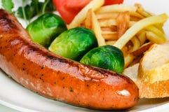 tyska potatiskorvgrönsaker Royaltyfri Bild
