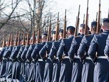 Tyska soldater av vaktregementet Royaltyfri Bild