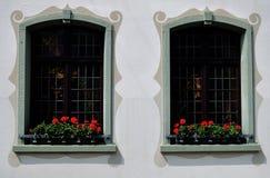 Tyska Windows Arkivfoto