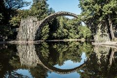 Tyskland är bron för jäkel` s Arkivfoto